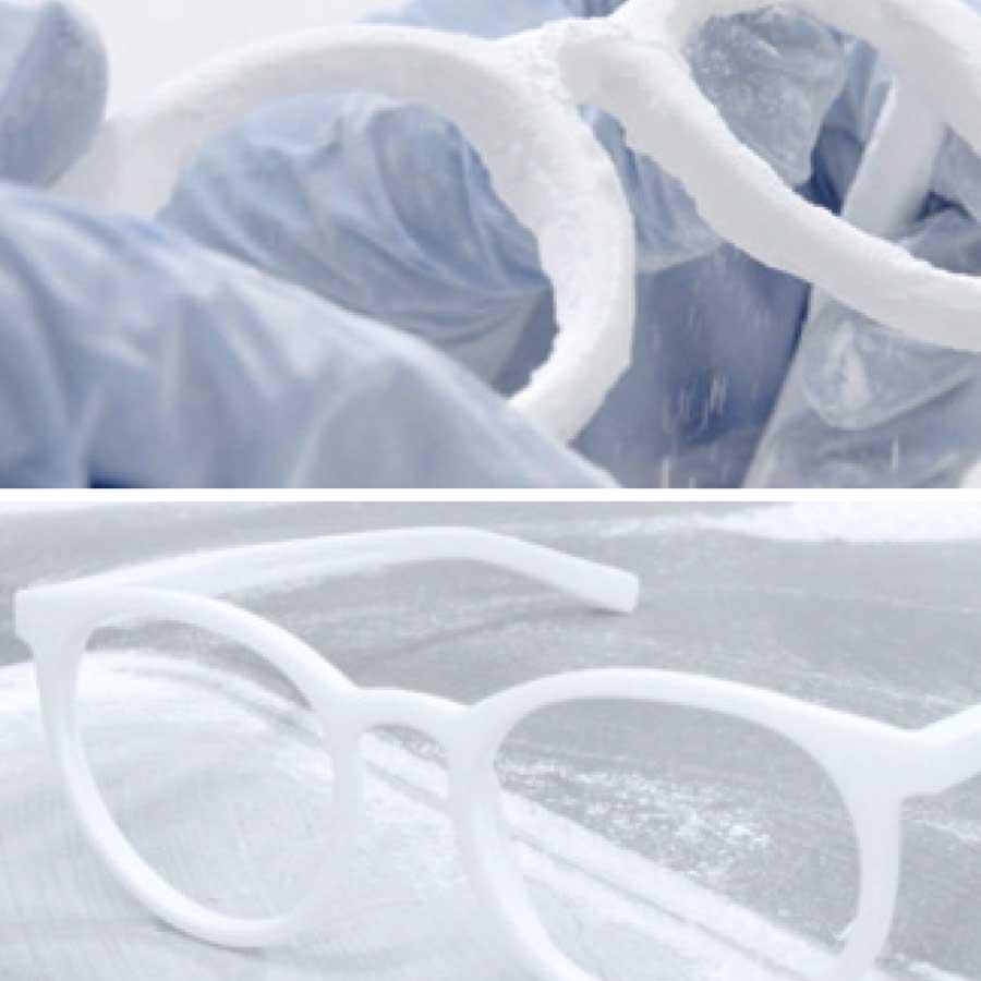 3D-Drucker-Brille