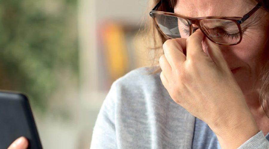 Smarte Gläser <br/>gegen müde Augen